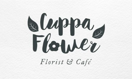 CuppaFlower Logo Folio